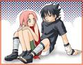 Safe with you - sasusaku photo