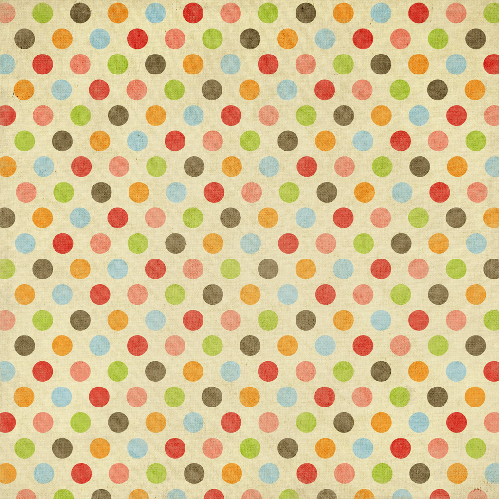 Rainbow Polka Dot Colorful Dots Fuchsia Wallpaper with