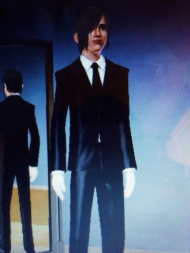 Sebastian Michaelis wallpaper containing a business suit, a suit, and a well dressed person called Sebastian on the Sims 3