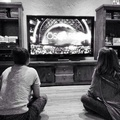 Selena watching the Oscars - selena-gomez photo
