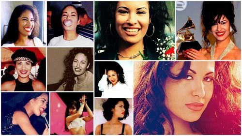 Selena Quintanilla-Pérez wallpaper with a portrait entitled Selena Quantanilla ♥