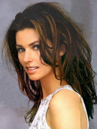 Shania Twain wallpaper with attractiveness and a portrait entitled Shana Twain