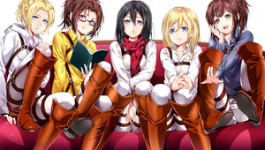 Shingeki no kyojin Girls