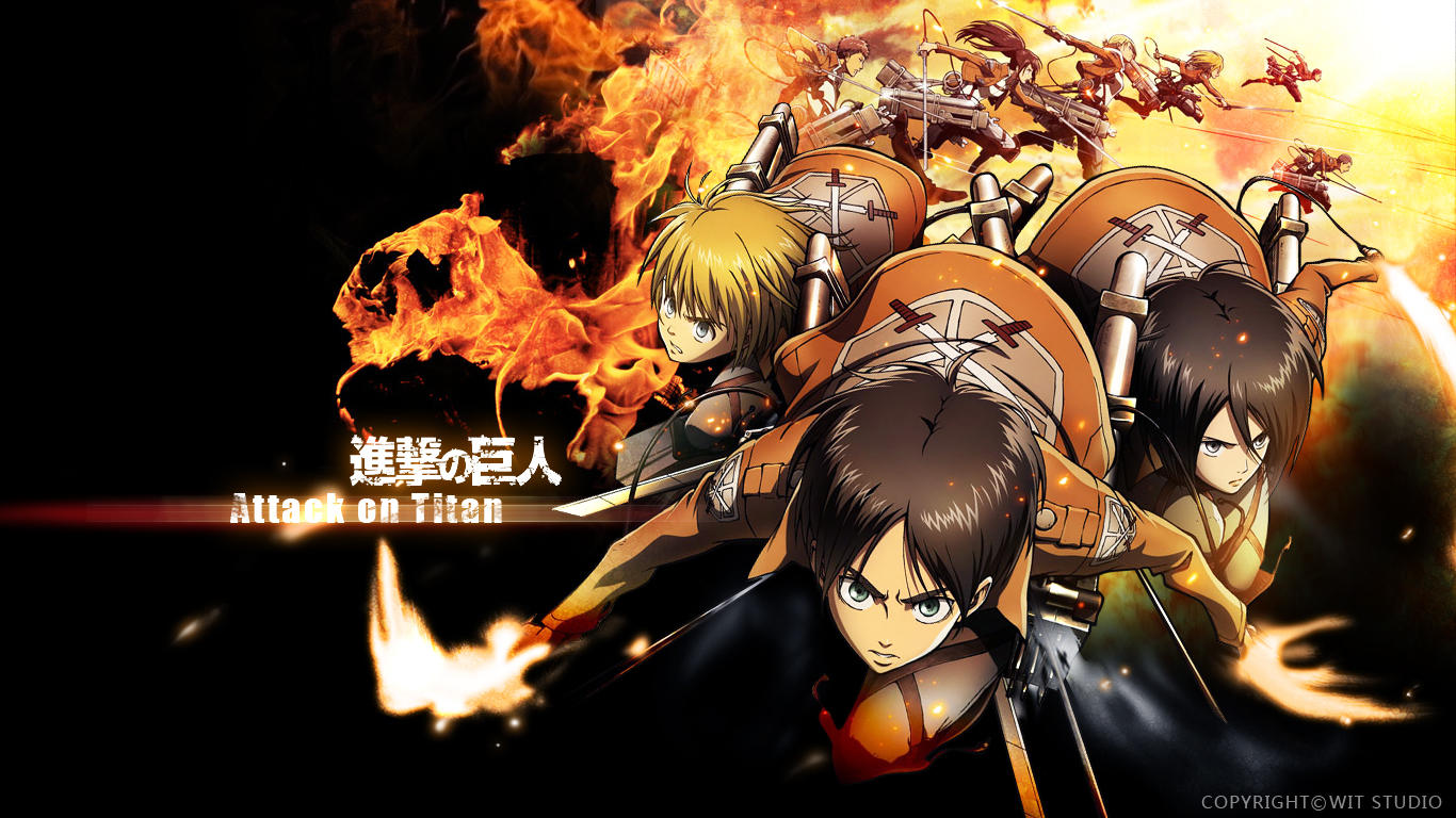 Shingeki No Kyojin Attack On Titan Images The Main Characters HD Wallpaper And Background Photos