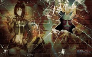 Mikasa kertas dinding