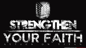 Strengthen your Faith