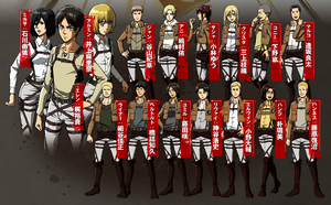 All main characters