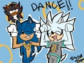 Carmelldansen!  - silver-the-hedgehog photo
