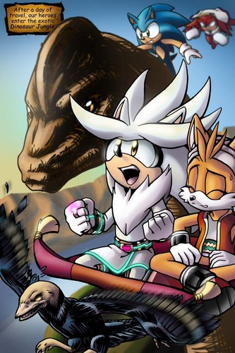 Silver the Hedgehog wallpaper with Anime called GOTF Comics!