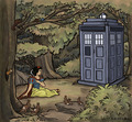 snow white and dr. who - snow-white fan art