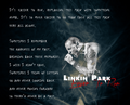 Linkin Park - Easier To Run - song-lyrics photo