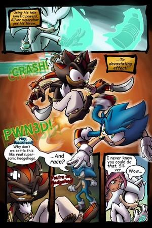 GOTF Sonic comics