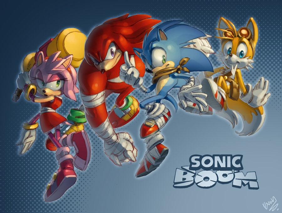 Sonic Boom - Sonic the Hedgehog Photo (36791658) - Fanpop