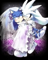 Sonilver wedding dress
