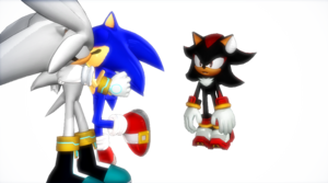 Shadow watches Sonilver kiss