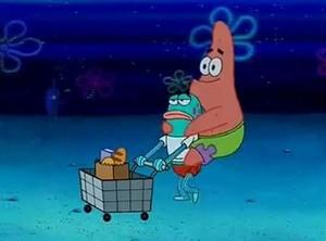 Patrick star, sterne