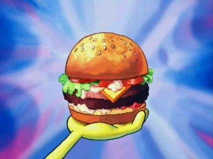 Spongebob Squarepants achtergrond titled Krabby Patty