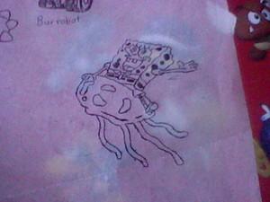SpongeBob SquarePants on Jellyfish