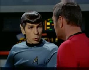 Spock and Scotty