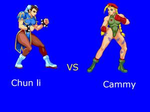 Chun li vs Cammy