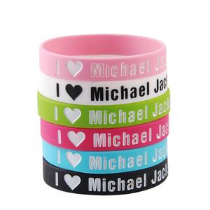 """I Love Michael Jackson"" Bracelets"