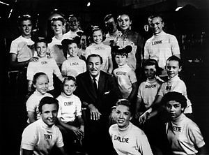 Walt Disney And The Original Mouseketeers