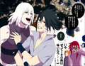 Suigetsu Hozuki, Karin and Sasuke