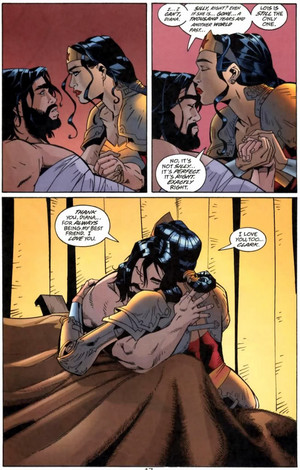Superman Action Comics- Immortal Beloved