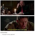 Supernatural | Tumblr Post - supernatural photo