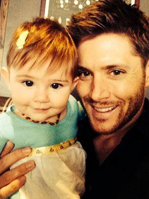Jensen with his beautiful Daughter JJ :)