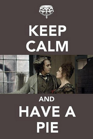 Keep Calm and Have a pie