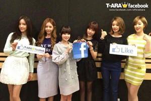 T-ara facebook