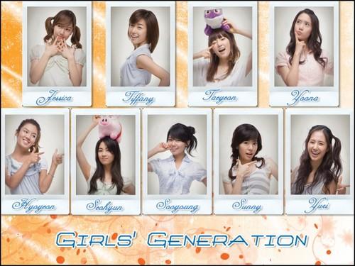 Taeyeon Girls Generation দেওয়ালপত্র entitled Girls' Generation