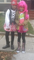 me and my cousin going to a haloween party on halloween - taylor-swift photo