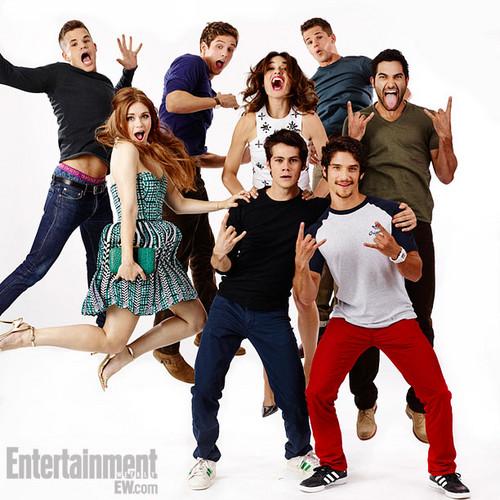 Teen wolf achtergrond titled Teen wolf Cast