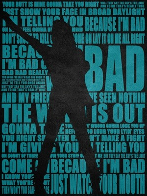 "Michael Jackson, ""Bad"""