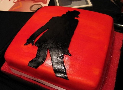"Die Bad-Ära Hintergrund titled ""Smooth Criminal"" Cake"