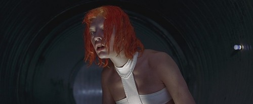 The Fifth Element wallpaper probably containing tights and a chemise called The Fifth Element - Leeloo