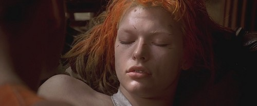 The Fifth Element wallpaper probably containing a portrait titled The Fifth Element - Leeloo