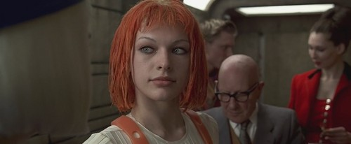 The Fifth Element wallpaper containing a portrait entitled The Fifth Element - Leeloo
