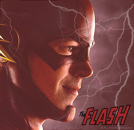 The Flash (CW) wallpaper probably containing anime titled The Flash Barry Allen