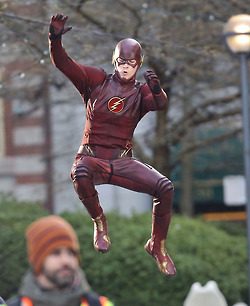 The Flash (CW) वॉलपेपर entitled The Flash - Costume