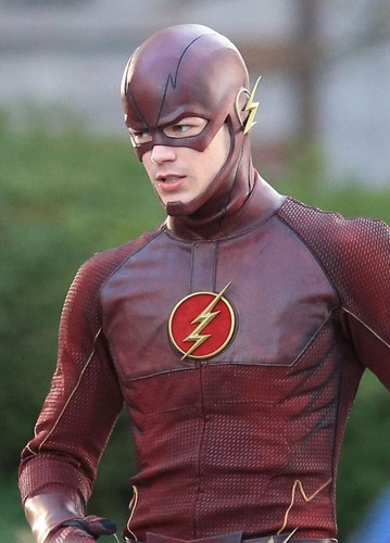 The Flash (CW) দেওয়ালপত্র titled The Flash - Costume