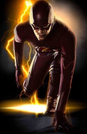 'The Flash' first full body costume photo!