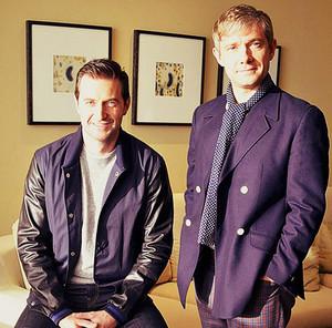 Richard and Martin
