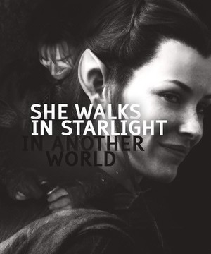 she walks in starlight