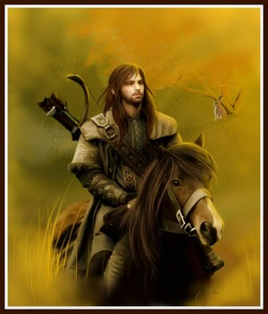 Kili on a horse