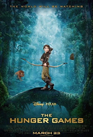 If the Hunger Games was a Disney Pixar Movie