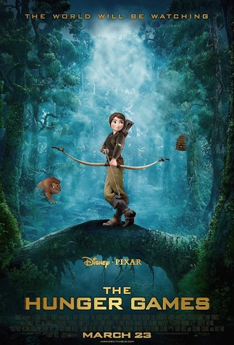 The Hunger Games wallpaper with anime titled If the Hunger Games was a Disney Pixar Movie