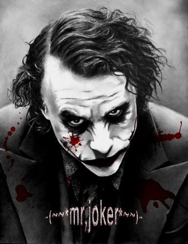The Joker kertas dinding titled ~Mr.Joker~